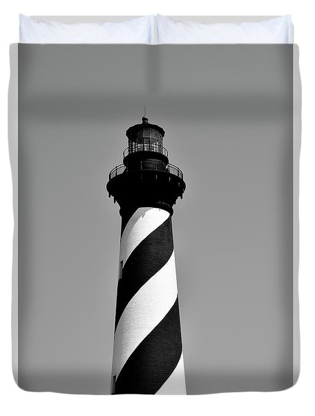 Cape Hatteras Island Light Duvet Cover