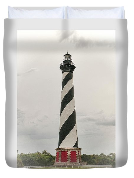 Cape Hatteras Light Duvet Cover