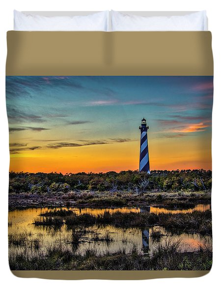 Cape Hatteras Lighthouse Duvet Cover