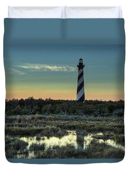 Cape Hatteras Sunset Duvet Cover