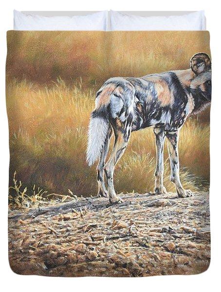 Cape Hunting Dog Duvet Cover