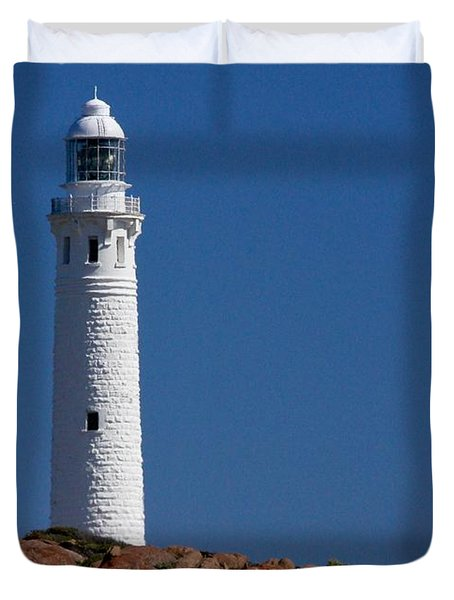 Cape Leeuwin Light House Duvet Cover