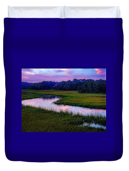 Duvet Cover featuring the photograph Cape Light by Kendall McKernon