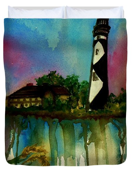 Cape Lookout Duvet Cover by Lil Taylor