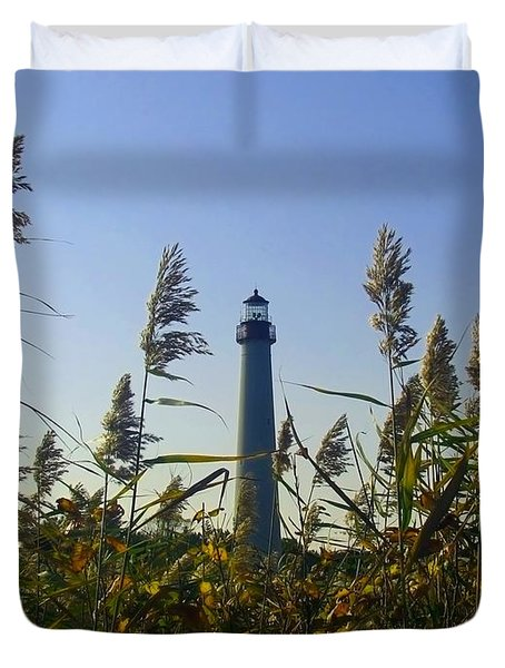 Cape May Light Autumn Duvet Cover by Kevin  Sherf