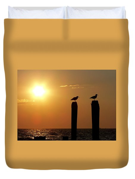Cape May Morning Duvet Cover