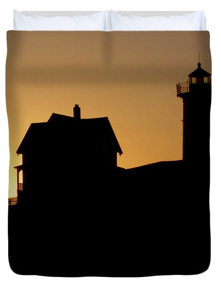 Cape Neddick-nubble Light Duvet Cover