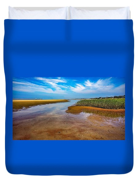 Duvet Cover featuring the photograph Cape Perspective by Kendall McKernon