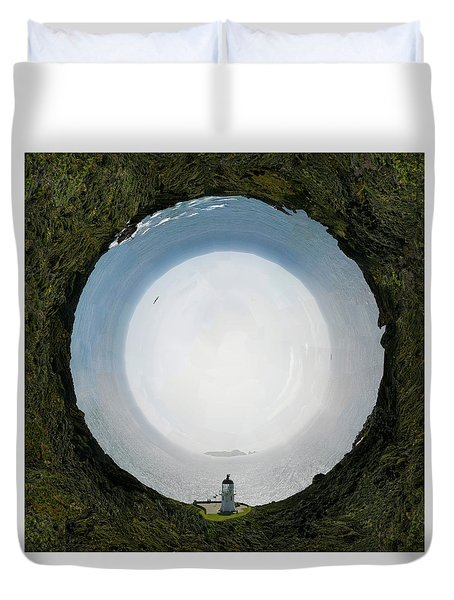 Sacred Planet - Cape Renga Duvet Cover
