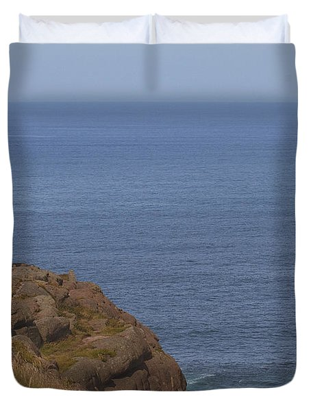 Duvet Cover featuring the photograph Cape Spear by Eunice Gibb