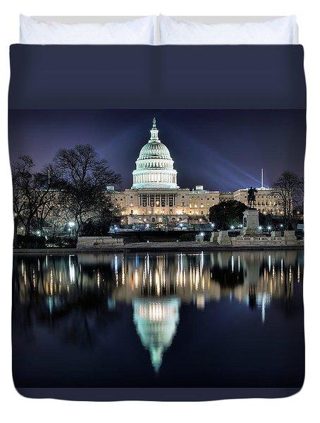 Capital Building Duvet Cover