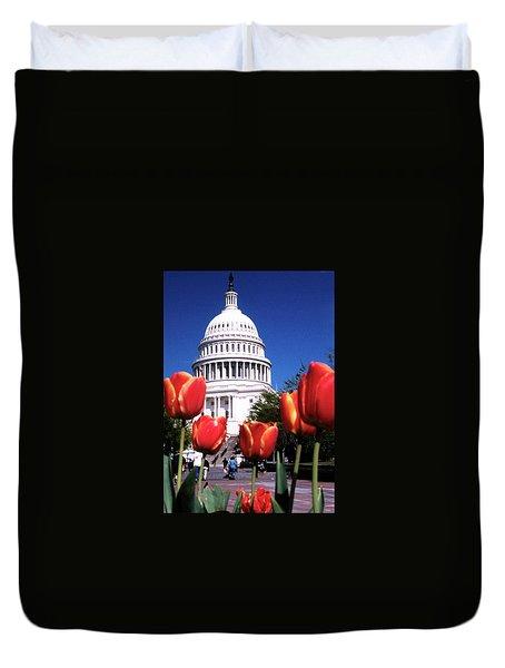 Capital Colors Duvet Cover