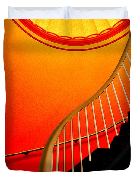 Capital Stairs Duvet Cover
