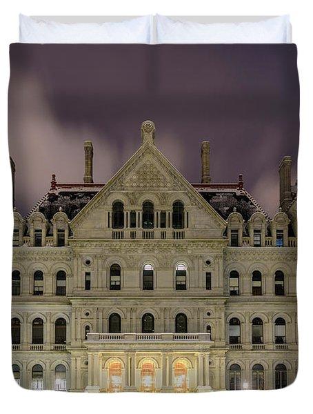 Capitol Snow Duvet Cover
