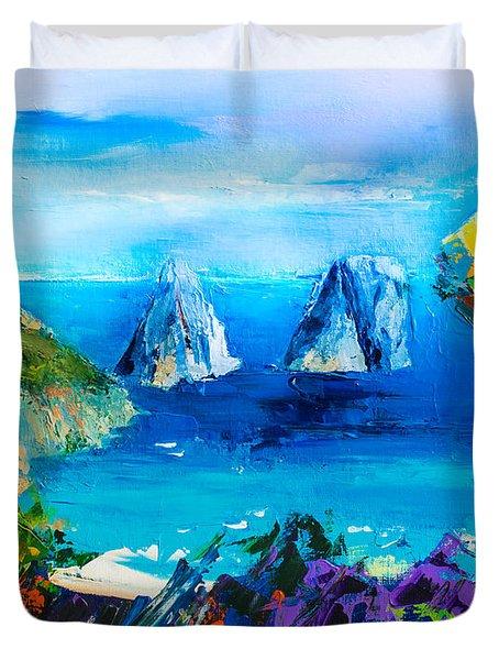 Capri Colors Duvet Cover