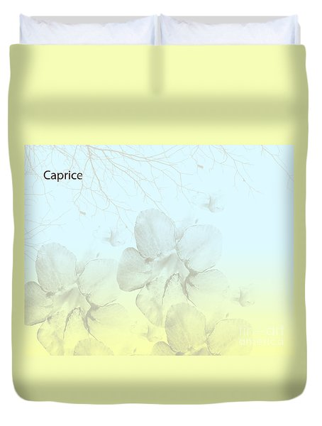 Caprice Duvet Cover by Trilby Cole