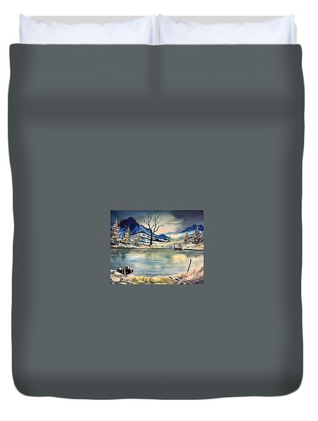 Captain 44 Duvet Cover