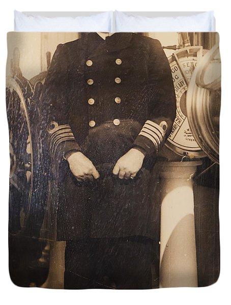 Captain Edward John Smith, Rd Rnr Duvet Cover