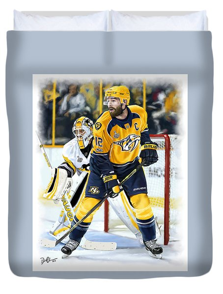 Captain My Captain Duvet Cover
