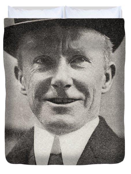 Captain Sir Arthur Henry Rostron, Kbe Duvet Cover