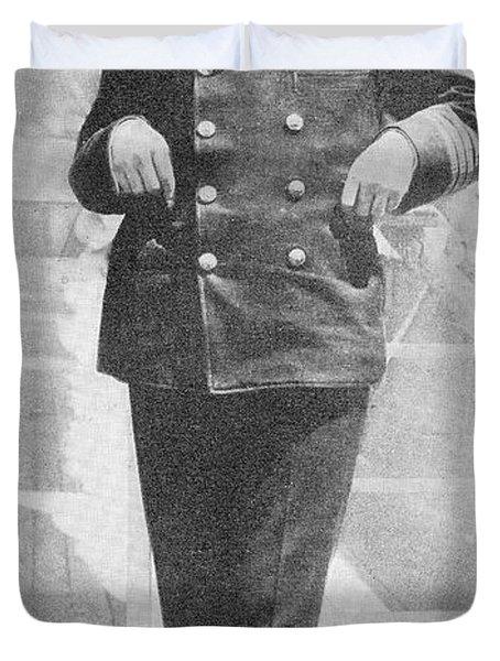 Captain Sir Arthur Henry Rostron Kbe Rd Duvet Cover