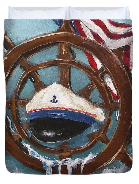 Captain's Home Duvet Cover
