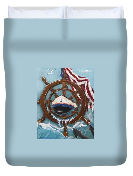 Captain's Home Duvet Cover