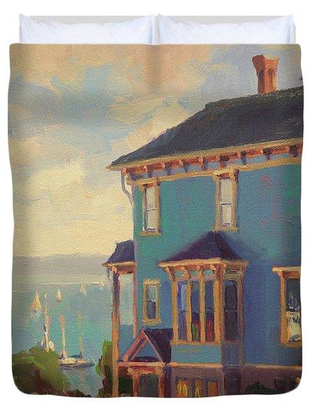 Captain's House Duvet Cover