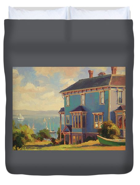 Captain's House Duvet Cover