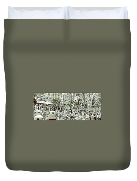 Capture On Endor Duvet Cover