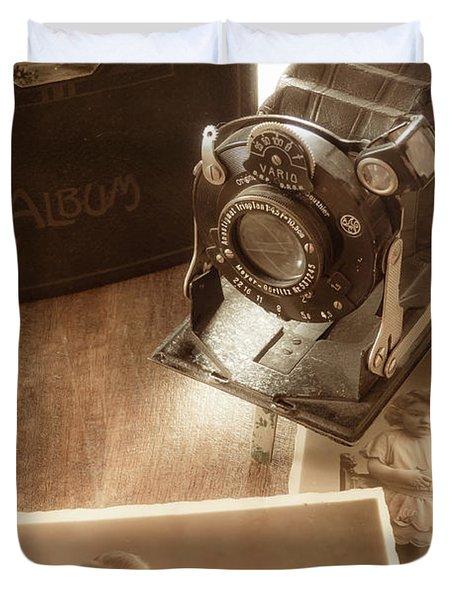 Captured Memories Duvet Cover