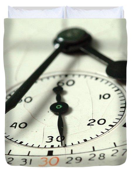 Captured Time Duvet Cover