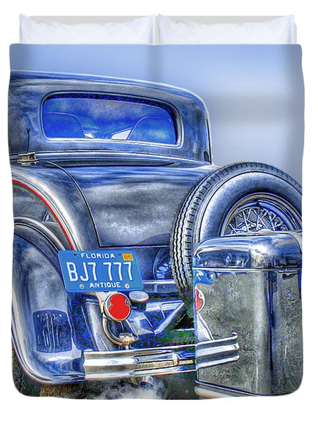 Car 54 Rear Duvet Cover