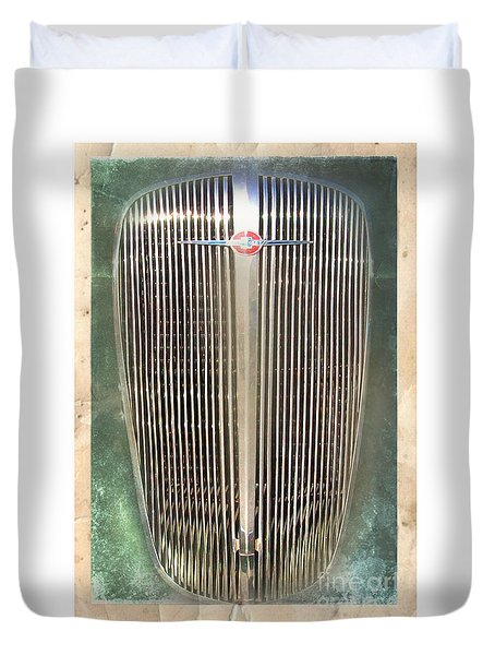 Car Grill 2 Duvet Cover