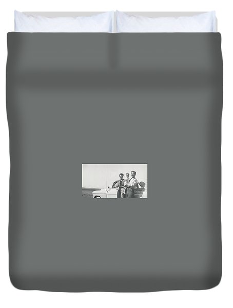 Car Ride Duvet Cover