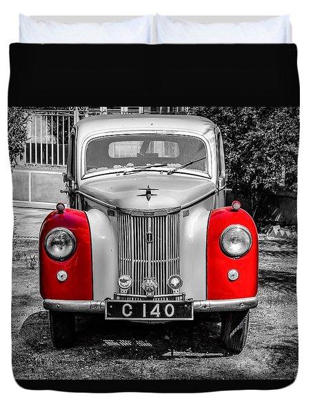 Car Duvet Cover