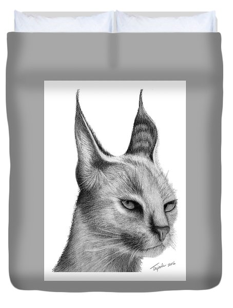 Caracal Duvet Cover