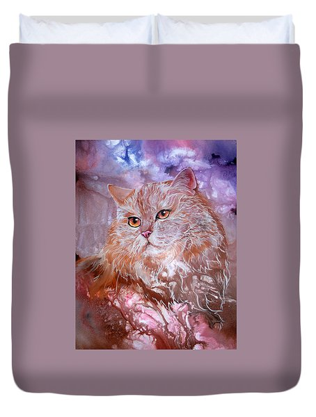 Caramel Cream Duvet Cover