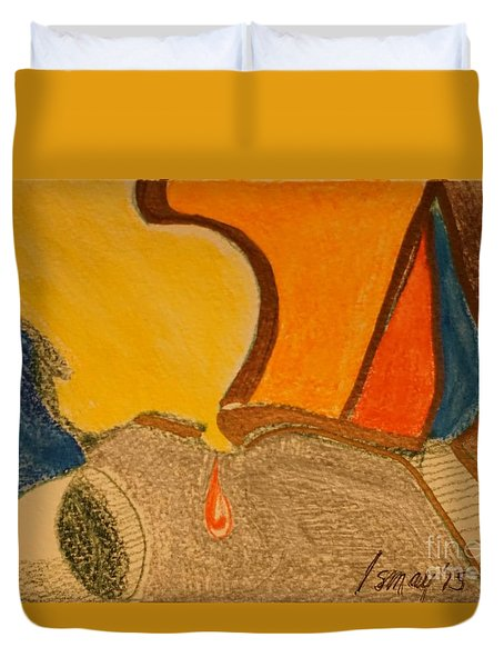 Card 1 Duvet Cover by Rod Ismay