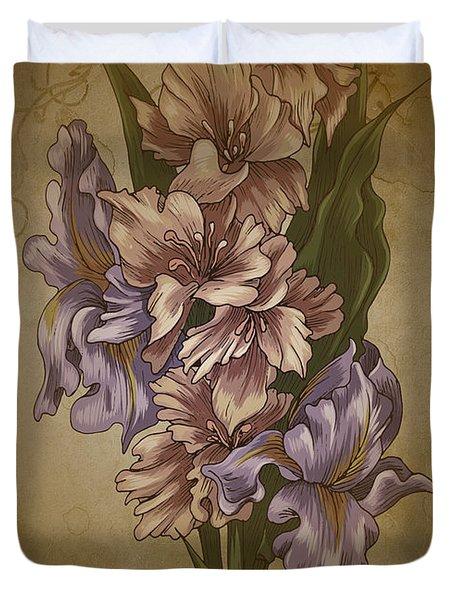 Card Floral Anyttime Duvet Cover