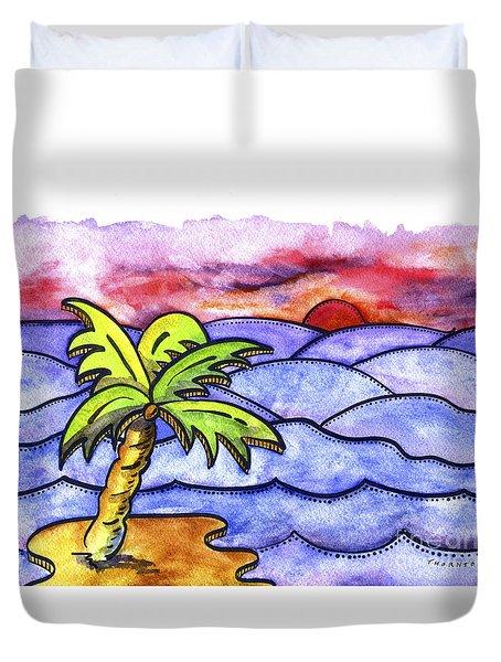 Rolling Seas Duvet Cover