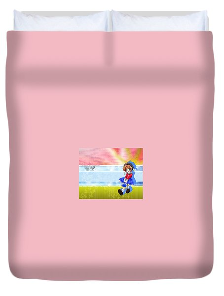 Cardcaptor Sakura Duvet Cover