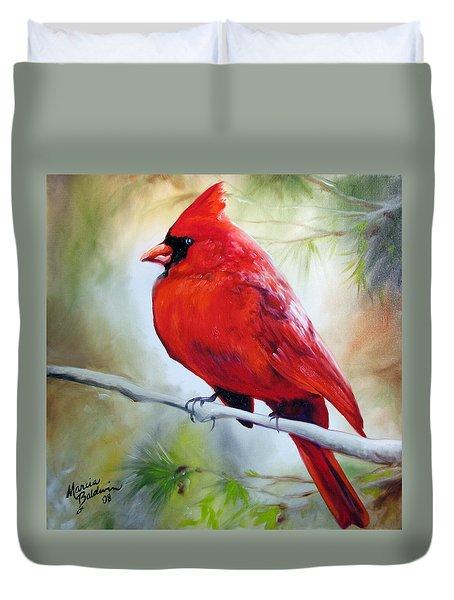 Cardinal 18 Duvet Cover