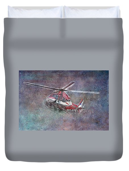 Care Flight Duvet Cover