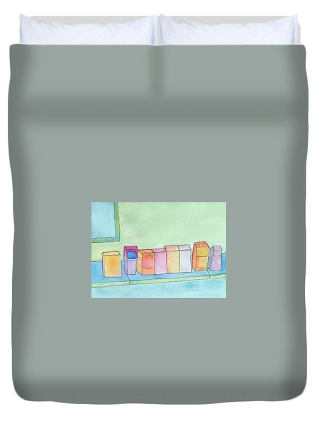 Care For A Newspaper? Duvet Cover
