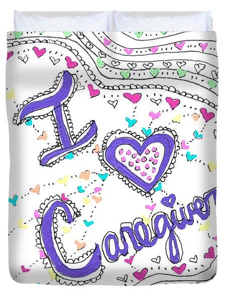 Caring Heart Duvet Cover