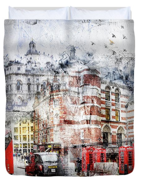 Carey Street Duvet Cover