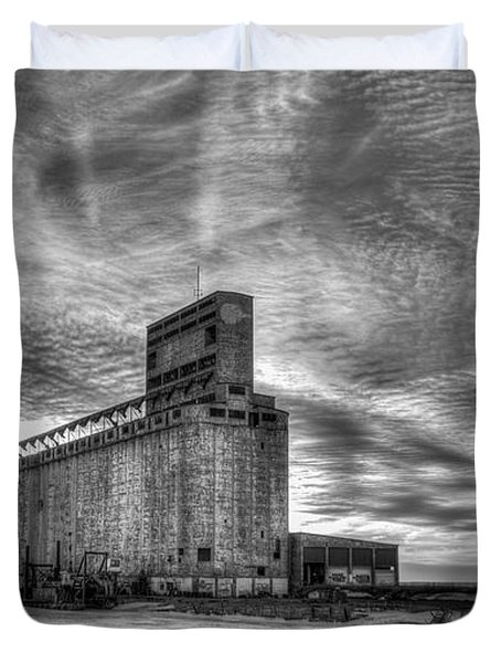 Cargill Sunset In B/w Duvet Cover