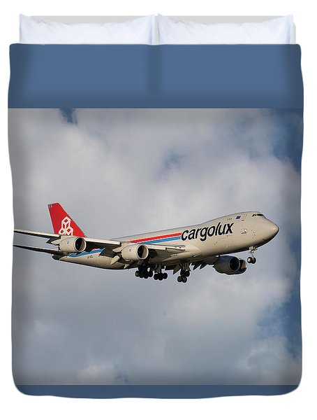 Cargolux Boeing 747-8r7 5 Duvet Cover