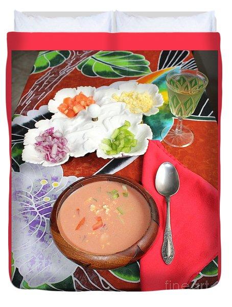 Caribbean Gazpacho Duvet Cover